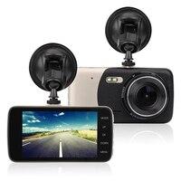 4 Mini Car DVR Dual Lens Video Recorder Parking Car Camera Full HD 1080P WDR Dash