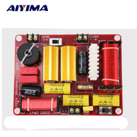 AIYIMA Active Speakers Frequency Divider 400W Two Ways Crossover Treble SubWoofer Aduio Board DIY For Home Theater Sound System