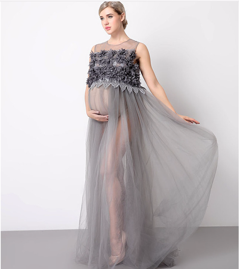 Maternity Photography Dress Party Evening Gown Pregnancy Photography Props Maternity Clothes for Photo Shoots недорого