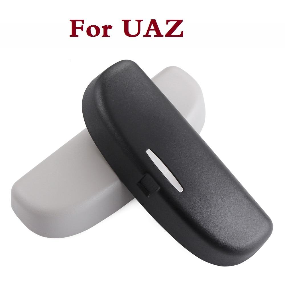 Beige Gray Car Interior roof Sun Glasses Box Case holder For UAZ 31512 3153 3159 3162 Simbir 469 Hunter Patriot bosal uaz 3159 3160 3962 hunter от 2003 6506 a