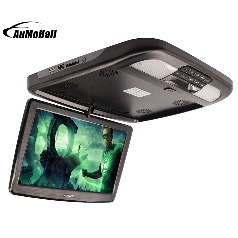 12 Inch FM Car Roof Mount Monitors Flip Down TFT LCD Monitor With MP5 Player