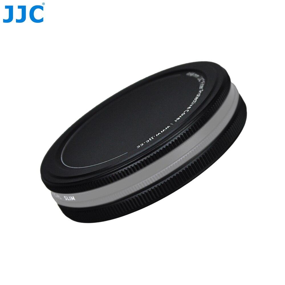 JJC UV CPL ND Filtri di Metallo Scatola Di Immagazzinaggio Caso 37/40. 5/43/46/49/52/55/58/62/67/72/77/82mm Lens Filtro Stack Cap Protector