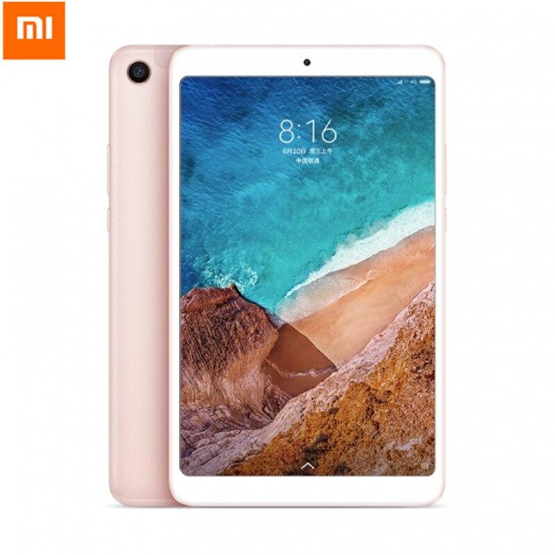 Xiaomi mi Pad Tablet PC 8,0 дюймов mi UI 9 64 разрядный Восьмиядерный процессор Qualcomm Snapdragon 660 Core 4 ГБ Оперативная память 64 ГБ eMMC Встроенная память Двойной HD к
