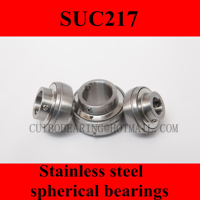 Stainless steel spherical bearings SUC217