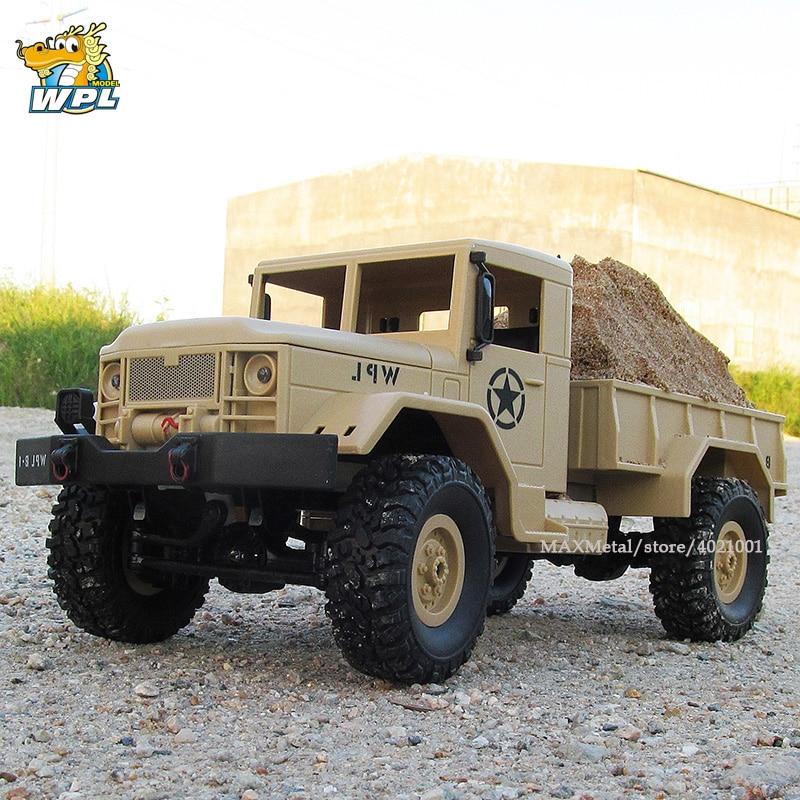WPL B14 RC Car WPL 1 16 Remote Control 2 4G RC Crawler Off road Car