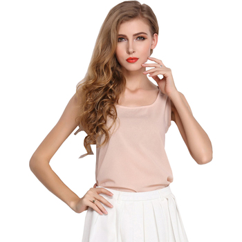 Candy Colored Chiffon Summer Women's T Shirt