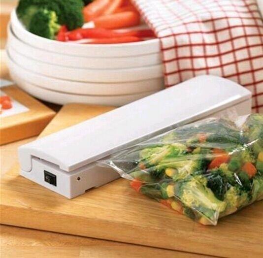 Food Vacuum Sealer Save Portable Reseal Airtight Handy Plastic Food Saver Storage Bag Keep Food Fresh Resealer Closer