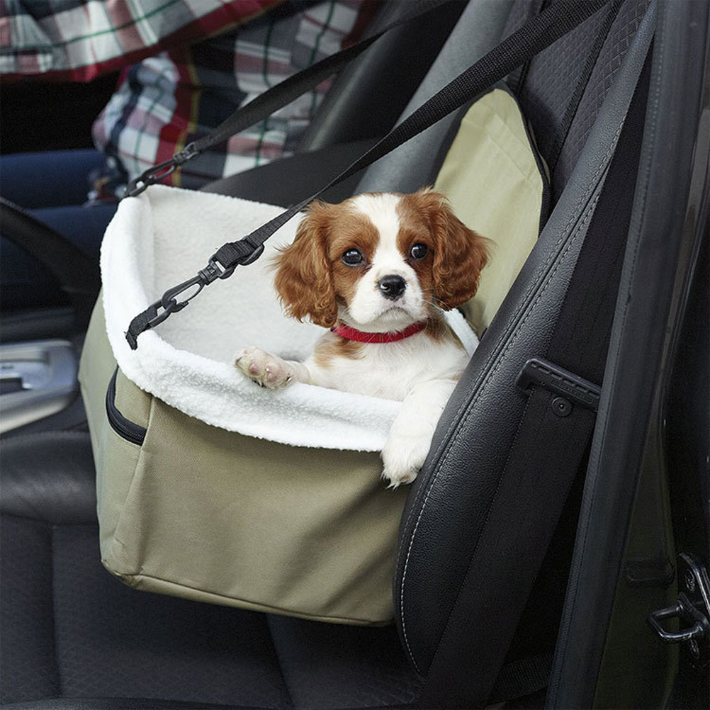 Pet Car Booster Seat Carrier Foldable Pet Car Seat Cover for Dog and Cat