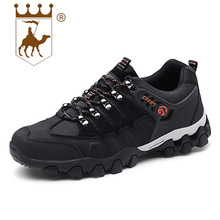 BACKCAMEL 2018 Autumn Winter New Low Mens Non-slip Outdoor Men's Vulcanize Shoes Leather Large Size Breathable Lightweight Shoes