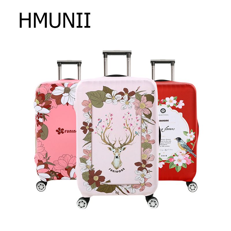 HMUNII  New Simplicity Travel Suitcase Protection Cover Apply To 18-32 Inch Trolley Case Suitcase Dust Cover Travel Accessories
