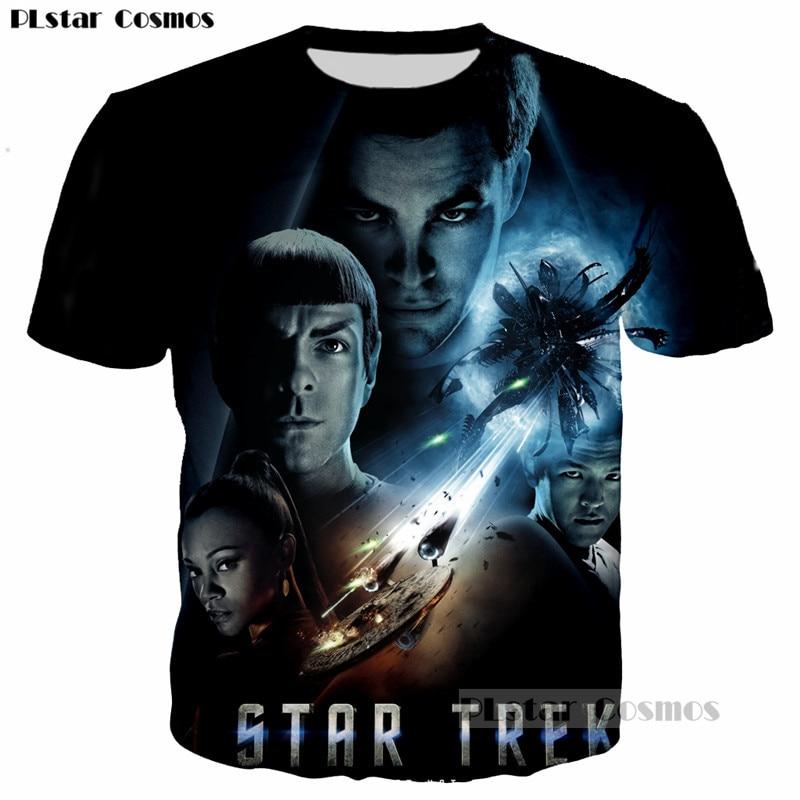 PLstar Cosmos Star Trek Black hole Space Print Women Men 3D tshirt Tumblr t shirt Cool Design Clothing Casual Hipster Tops tees