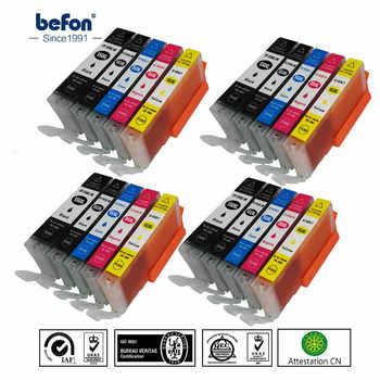 Befon set X4 550 551 XL Cartuccia di Inchiostro Compatibile di Ricambio per Canon PGI-550XL PGI550 IGP 550 CLI551 per PIXMA IP7250 MG5450