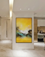 Large Hand Painted Oil Painting On Canvas Modern Abstract Wall Art