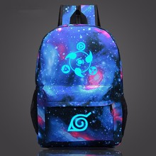 2019 Naruto Backpack Japan Anime Printing School Bag for Teenagers Cartoon Travel Rucksack Nylon Mochila Galaxia