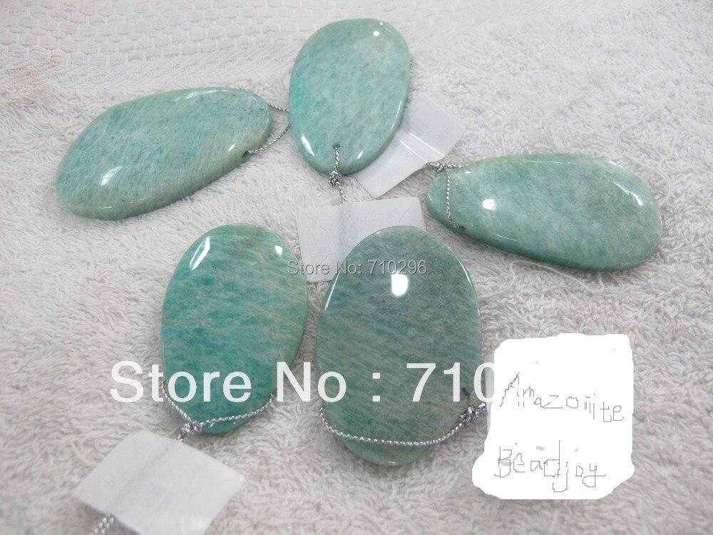 everlast Pendants 10pcs lot Natural Amazonite irregular size 30 60 mm Natural everlast Jewelry Pendant