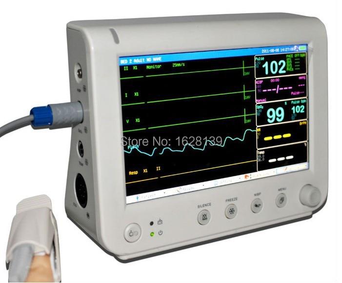 купить Multiparameter Patient Monitor/Portable Patient Monitor, ambulance patient monitor, hospital equipment, veterinary instruments недорого