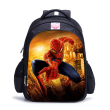 New 16 inch cartoon spiderman brand school bags for boys pupils bag little children's backpack school book bag mochilas