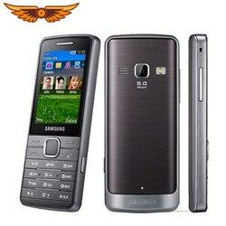 Original Samsung S5611 GSM 2.4 Inch FM Radio Bluetooth 5MP Camera Russian keyboard Unlocked Cellphone Refurbished Mobile Phone