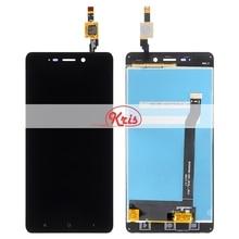 1 шт. для Xiaomi Redmi 4 ЖК-дисплей сенсорным экраном дигитайзер сборки Замена для Hongmi Redmi 4 5.0 дюймовый смартфон ЖК-дисплей Экран дисплея
