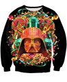 Free Shipping Fashion Unisex Women/Men Star Wars Sweatshirt Crewneck 3D Darth Vader Sweats Winter Autumn Sweatshirts Pullover