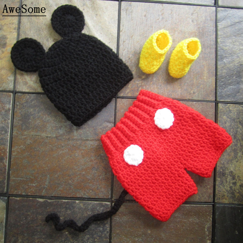 Knitting Pattern For Mickey Mouse Hat Image Collections Knitting