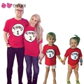 chifuna Family Matching Outfits Fashion Bestie & Couple Clothes 2017 New Brother Sister t-shirts Letter Printed Family Look