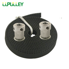 LUPULLEY MXL Timing Belt Pulley 20T Bore 5/6/6.35/8mm With 5M MXL Belt 6mm Width 3D Printer Accessories