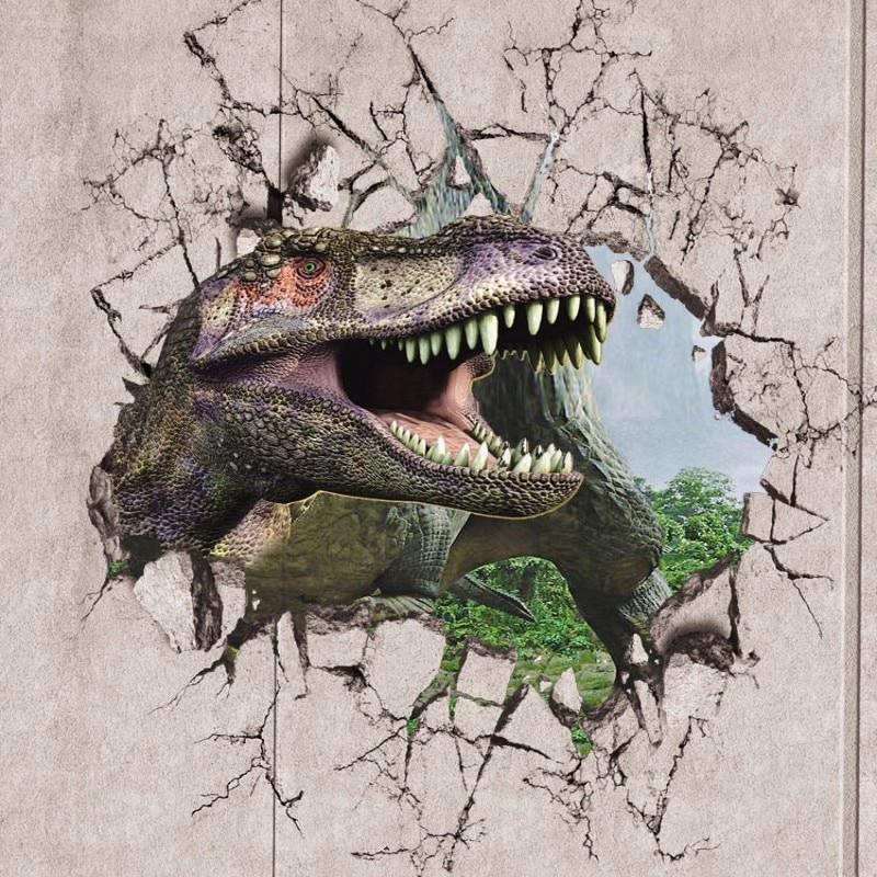 dinosaure papier peint promotion achetez des dinosaure. Black Bedroom Furniture Sets. Home Design Ideas