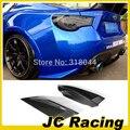 GT86 FT86 BRZ ZELE  Carbon Fiber car rear Side Bumper Aprons Splitter For Toyota (Fit GT86 FT86 BRZ 2012-2013)