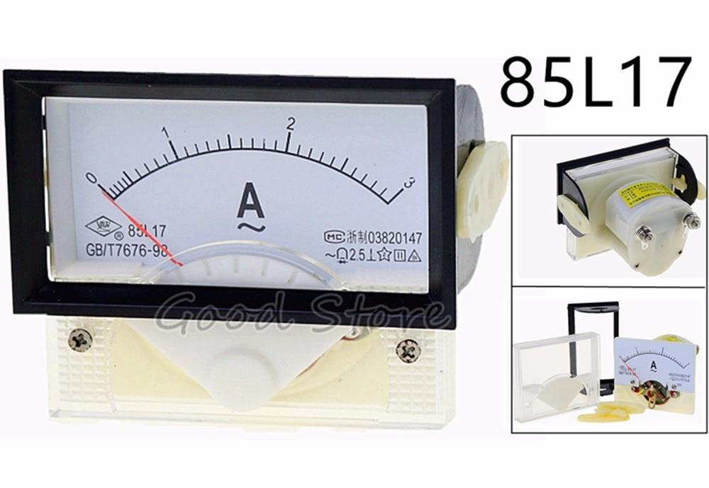 85L17 AC 1A 2A 3A 5A 10A 15A 20A 30A 50A 75A Analog Ammeter Panel Current Amper Meter Pointer Diagnostic too|Current Meters| |  - title=
