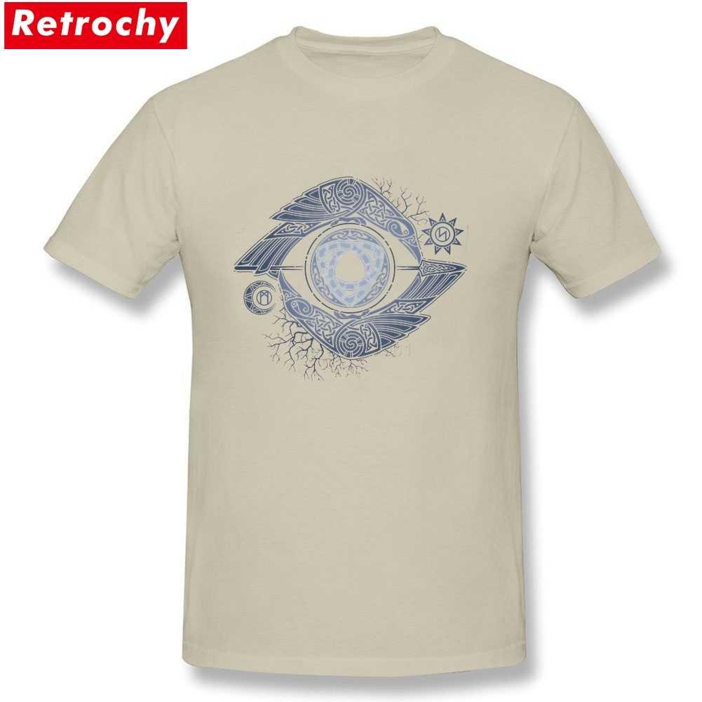 1e05bd4a Vikings t shirt men 2019 History ODIN'S EYE T-Shirt Men and Women Tv Show  Tee Large Size S-XXXL