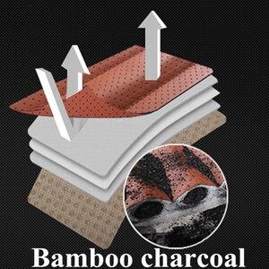 Image 3 - Tampas de assento de carro couro do plutônio protetor de assento de carro almofadas de bambu carvão coxim de carro lado em torno da capa de assento quatro estações