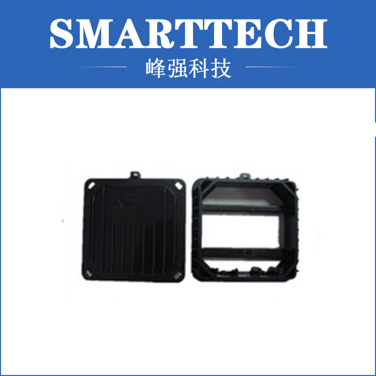 Electric appliance accessory double injection plastic mould high tech plastic electric torch enclosure mould