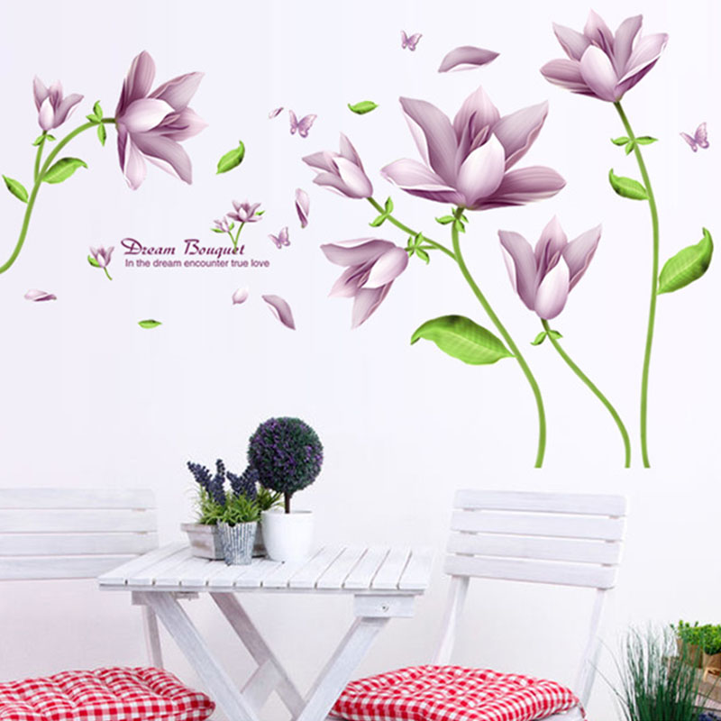 large wall decals dining room - wall murals you'll love