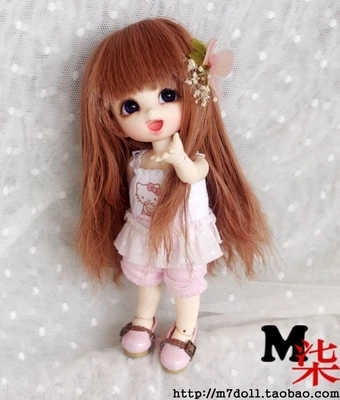 1/8 1/6 1/4 1/3 uncle BJD SD DD Doll accessories wigs gold long hair