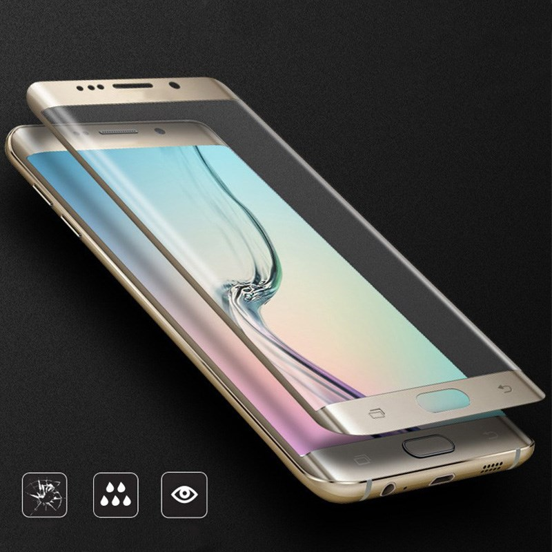 5D härdat glas nots8 S8 För Samsung Galaxy S9 S8 Plus S7 S6 Edge - Reservdelar och tillbehör för mobiltelefoner - Foto 4