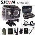 Original sjcam sj4000 wifi dv esportes câmera de ação de 2.0 polegada lcd tela 1080 P HD Mergulho 30 M À Prova D' Água Filmadora mini SJ 4000 Cam