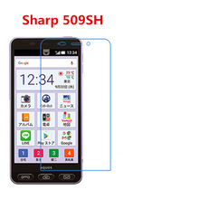 5 Pcs Ultra Thin Clear HD LCD Screen Guard Protector Film With Cleaning Cloth Film For Sharp 509SH. цена