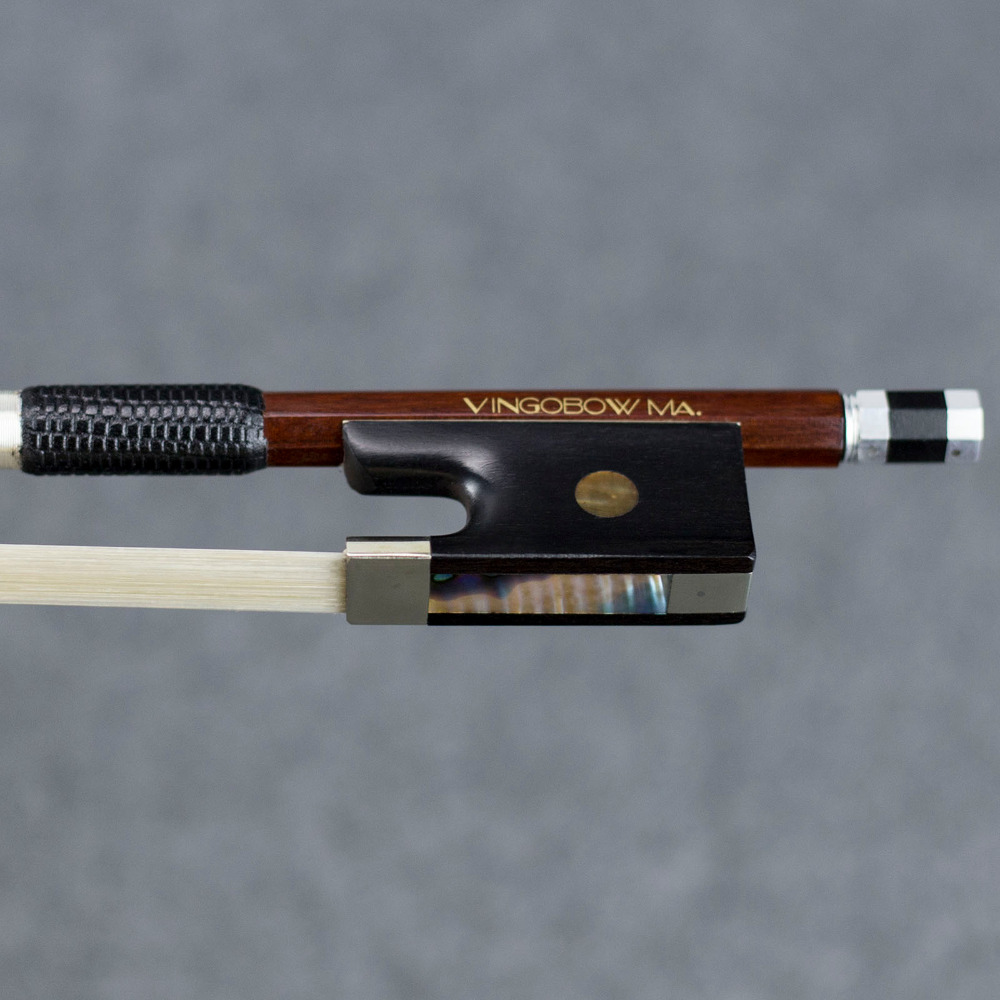 920 V 4/4 Size Master Pernambuco VIOOL BOOG Ebbenhout Nikkel Zilver - Muziekinstrumenten - Foto 2