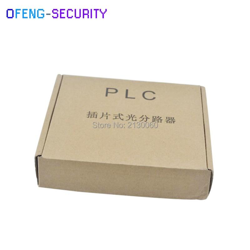 8pcs/lot SC APC PLC Splitter 1X4 Splitter Fiber Optical Box,FTTH PLC Splitter Box With 1X4 Planar Waveguide Type