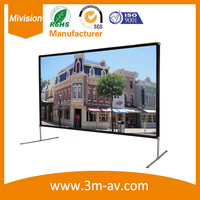 92inches 16:9 Projection Screen Home Theater Use For All Projector Wall Mounted Screen/Out door screen