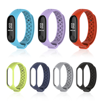 NFC Version mondiale Mi bande 5 Bracelet pour Xiaomi Mi bande 4 sangle Sport Smart Mi bande 3 sangle Bracelet Correa MiBand 3 4 5