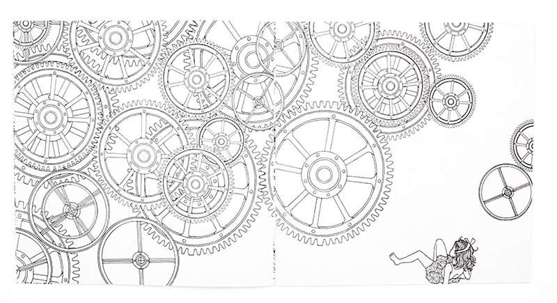 aliexpresscom buy 1 pcs new 24 pages time travel coloring book for children adult relieve stress kill time graffiti painting drawing art book from - Travel Coloring Book