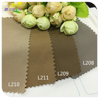 1M Winter Cotton Pure Color Twill Fine Card Fabric Fashion Fabrics Men And Women Khaki Windbreaker