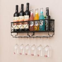 Metal Wine Goblet Holder Storage Holder Wine Rack Hanging Wine Bar Glass Cup Storage Holder