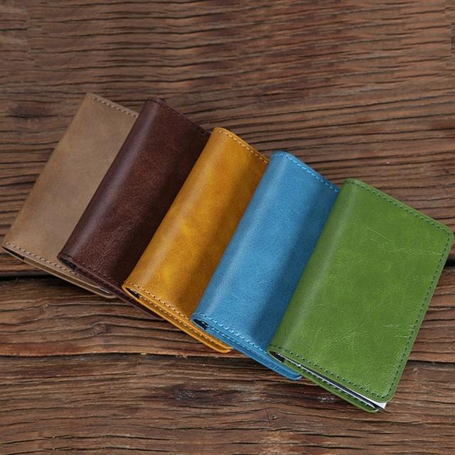 Merc RFID Blocking Mini Leather Wallet