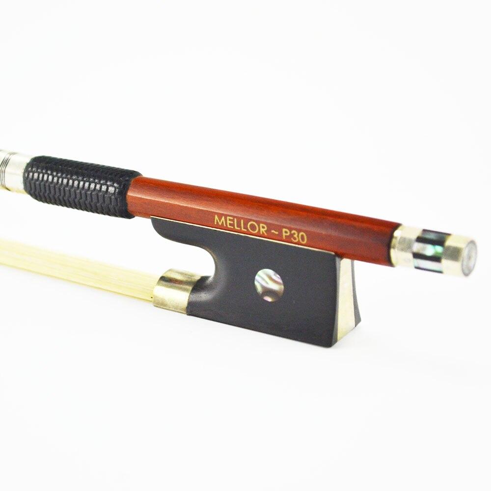 4/4 Pernambuco Скрипка Лук сладкий тон хорошо баланс меллор Профессиональный P30 аксессуары для скрипки *** Специальное предложение 50% ***