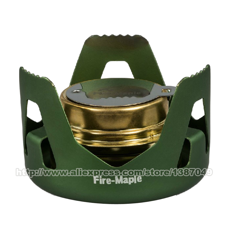 Fire Maple FMS-122 Alcohol Stove Ultralight Outdoor Liquid Solid Fuel Stove Portable Camping Hiking Sports Stove