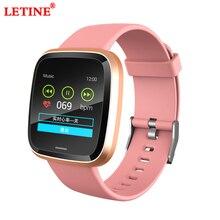 G-sensor Parameter Smart Bracelet IT116 IP67 Waterproof Heart Rate Blood Pressure Monitoring Weather Information Smart Band