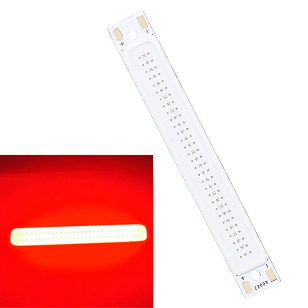 COB LED Strip Light High Power Lamp Bead Chip Warm/Cool White/Red